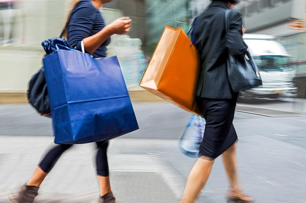 Beratung unterwegs - Einkaufsbegeleitung